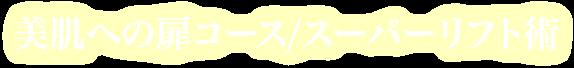 美肌への扉コース/スーパーリフト術